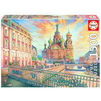 thumb-Saint Petersburg - jigsaw puzzle of 1500 pieces-1