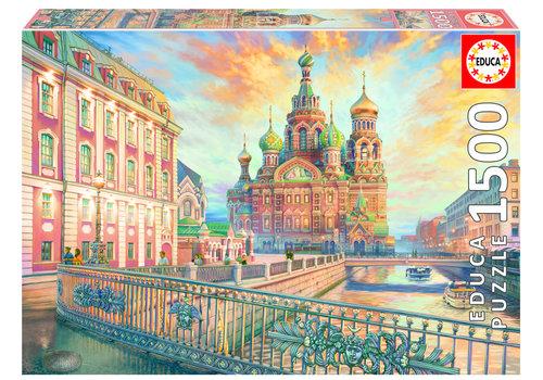 Educa Saint Petersbourg - 1500 pièces