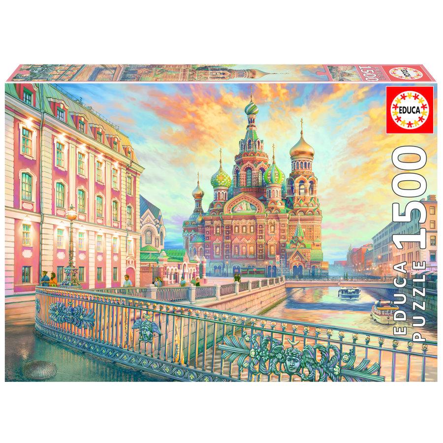 Saint Petersbourg - puzzle de 1500 pièces-1
