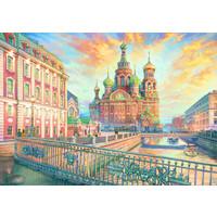 thumb-Saint Petersbourg - puzzle de 1500 pièces-2