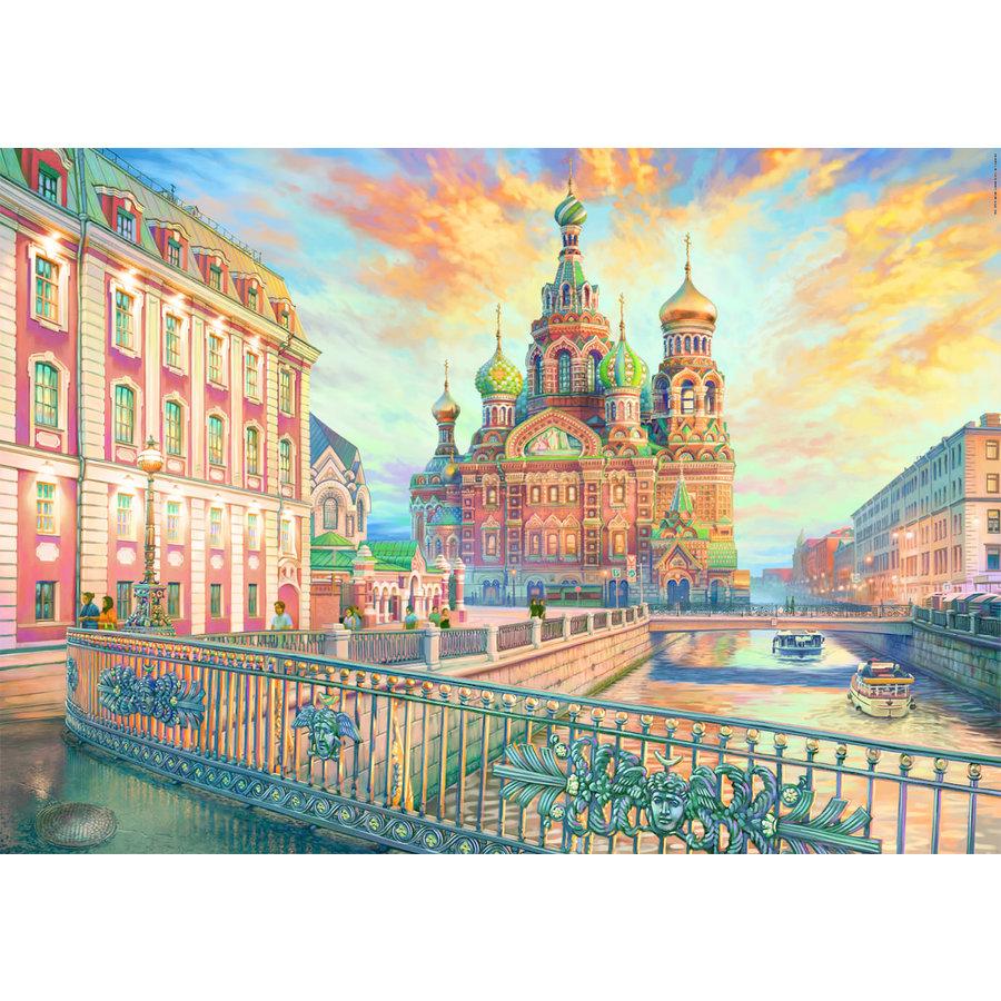 Saint Petersburg - jigsaw puzzle of 1500 pieces-2