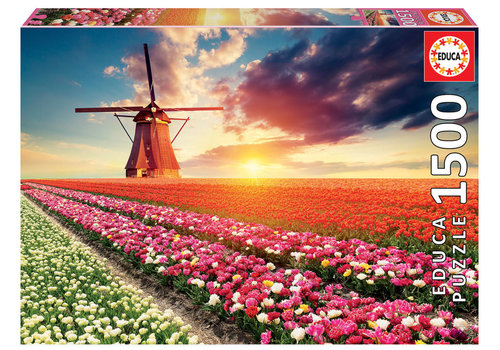 Educa Tulpenlandschap - 1500 stukjes