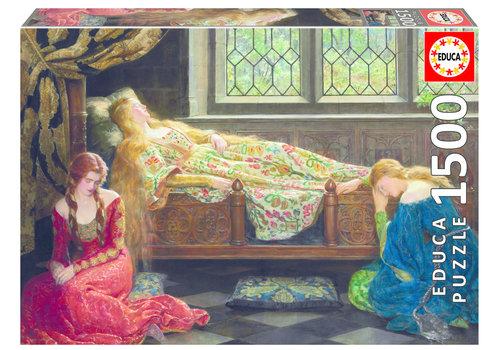 Slapende schoonheid - 1500 stukjes