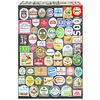 Educa Bier etiketten collage - legpuzzel van 1500 stukjes