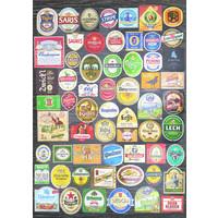thumb-Bier etiketten collage - legpuzzel van 1500 stukjes-2