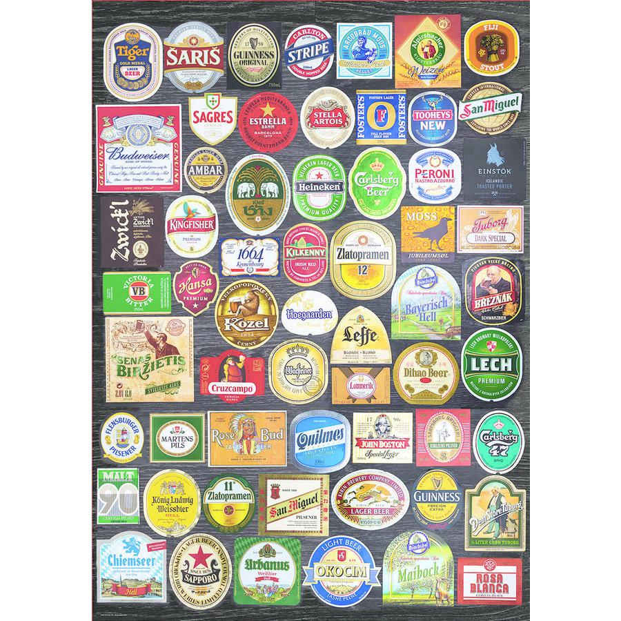 Etiquettes de Bières - John Collier - puzzle de 1500 pièces-2