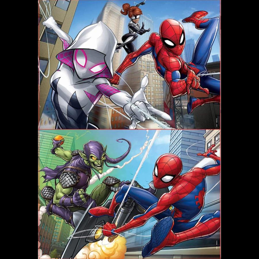 Spiderman - 2 x 48 stukjes-2