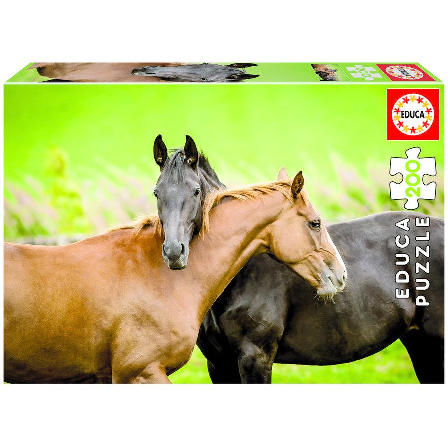 Chevaux - puzzle de 200 pieces-2