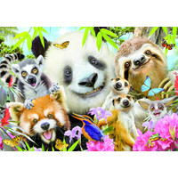 thumb-Black-eyed friends selfie - puzzle of 300 pieces-1