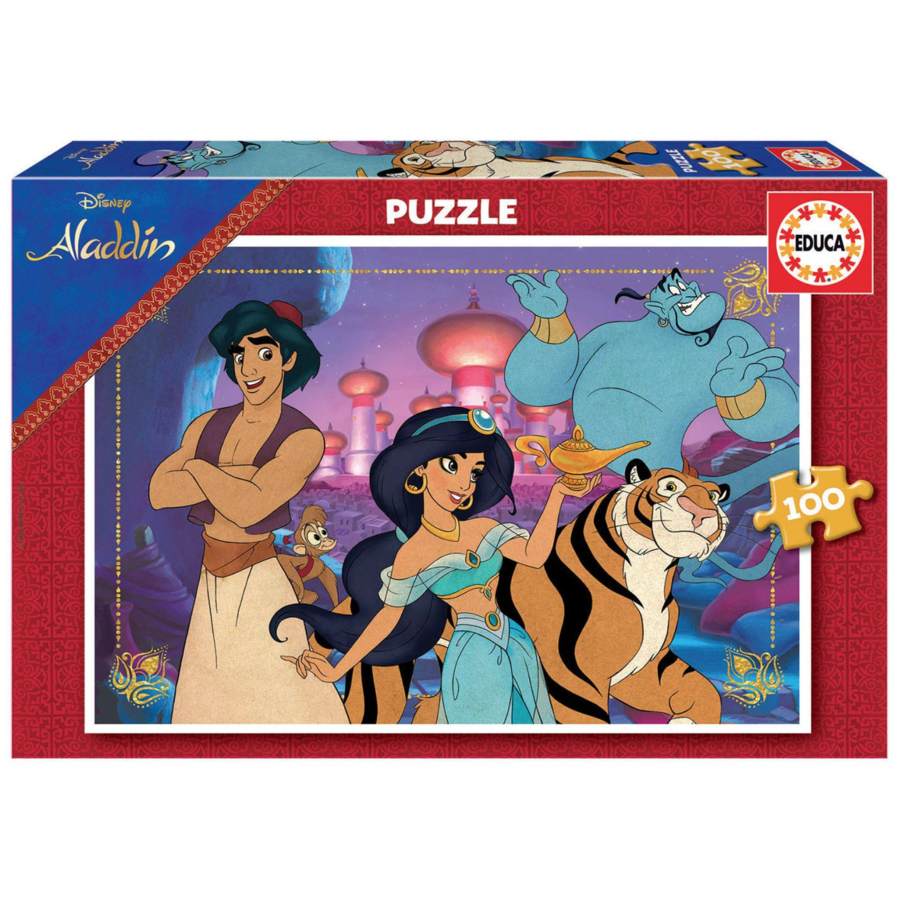 Aladdin - puzzle of 100 pieces-1