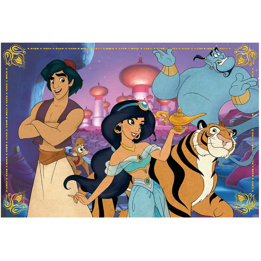 Aladdin - puzzle of 100 pieces-2