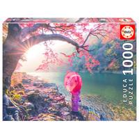 thumb-Zonsopgang in Japan - puzzel 1000 stukjes-1