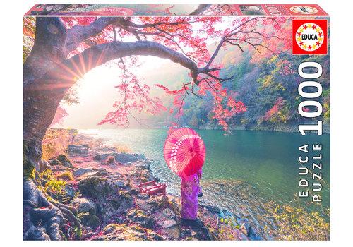 Lever de soleil à Japon - 1000 pièces