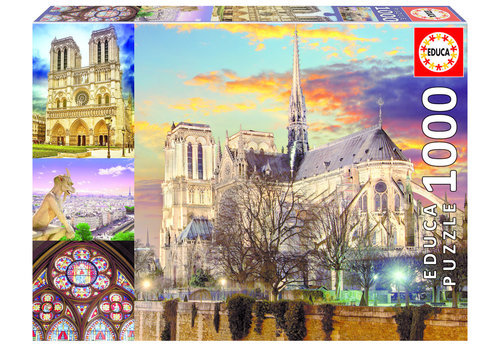Educa Notre Dame collage - 1000 pieces