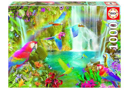 Educa Tropische papegaaien - 1000 stukjes
