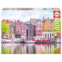 thumb-Dansende huizen in Amsterdam - puzzel 1000 stukjes-1
