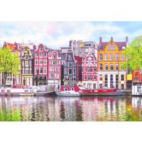 thumb-Dansende huizen in Amsterdam - puzzel 1000 stukjes-2