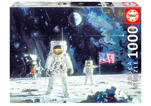 Educa First men on the moon - 1000 pieces