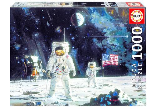 Les premiers hommes sur la lune - 1000 pièces