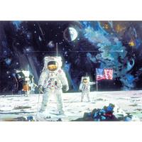 thumb-Eerste man op de maan - puzzel 1000 stukjes-2