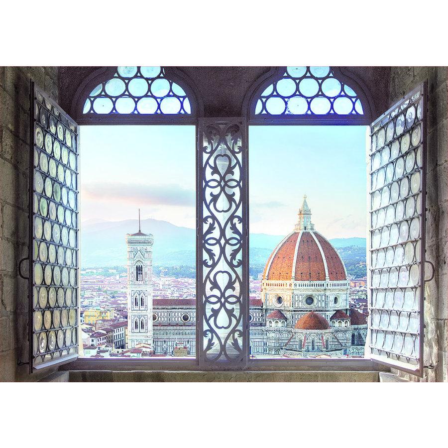 Zicht op Firenze - puzzel 1000 stukjes-2