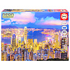 Educa Hong Kong Skyline - Glow in the Dark - puzzel 1000 stukjes