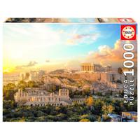 thumb-De Acropolis in Athene - puzzel 1000 stukjes-1