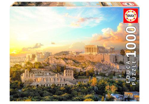 L'Acropole d'Athènes - 1000 pièces