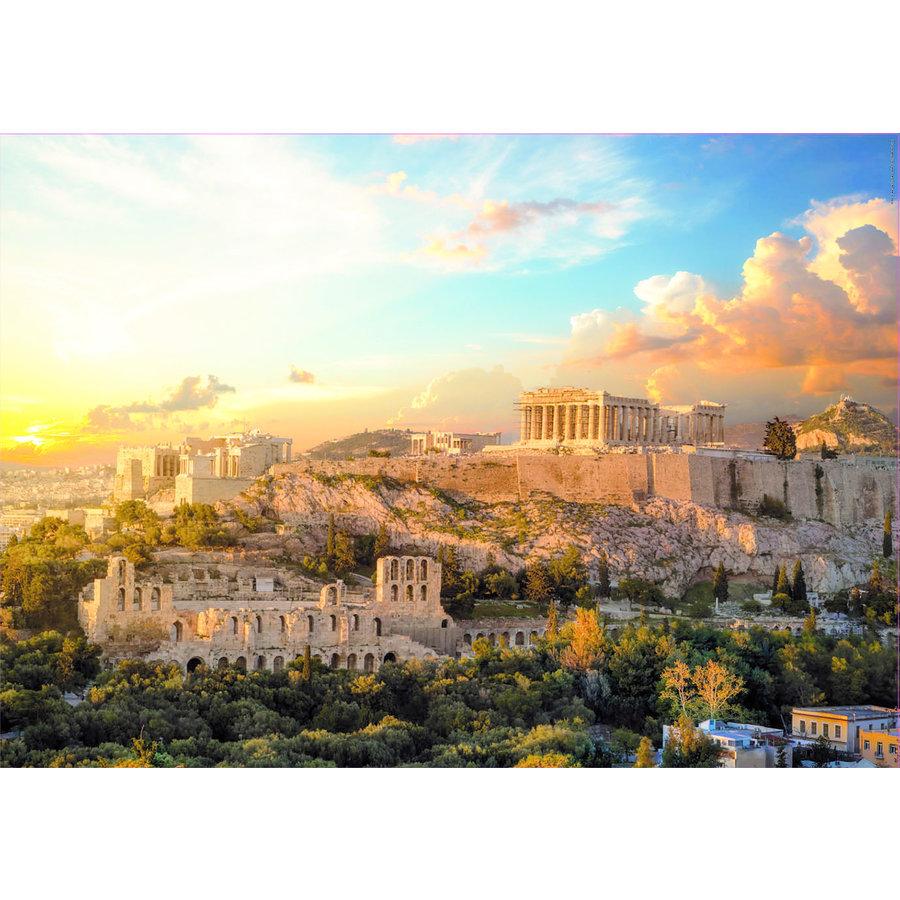 De Acropolis in Athene - puzzel 1000 stukjes-2
