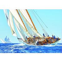 thumb-Zeilboot op zee - puzzel 1000 stukjes-2