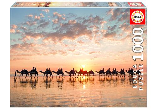 Zonsondergang in Australië - 1000 stukjes