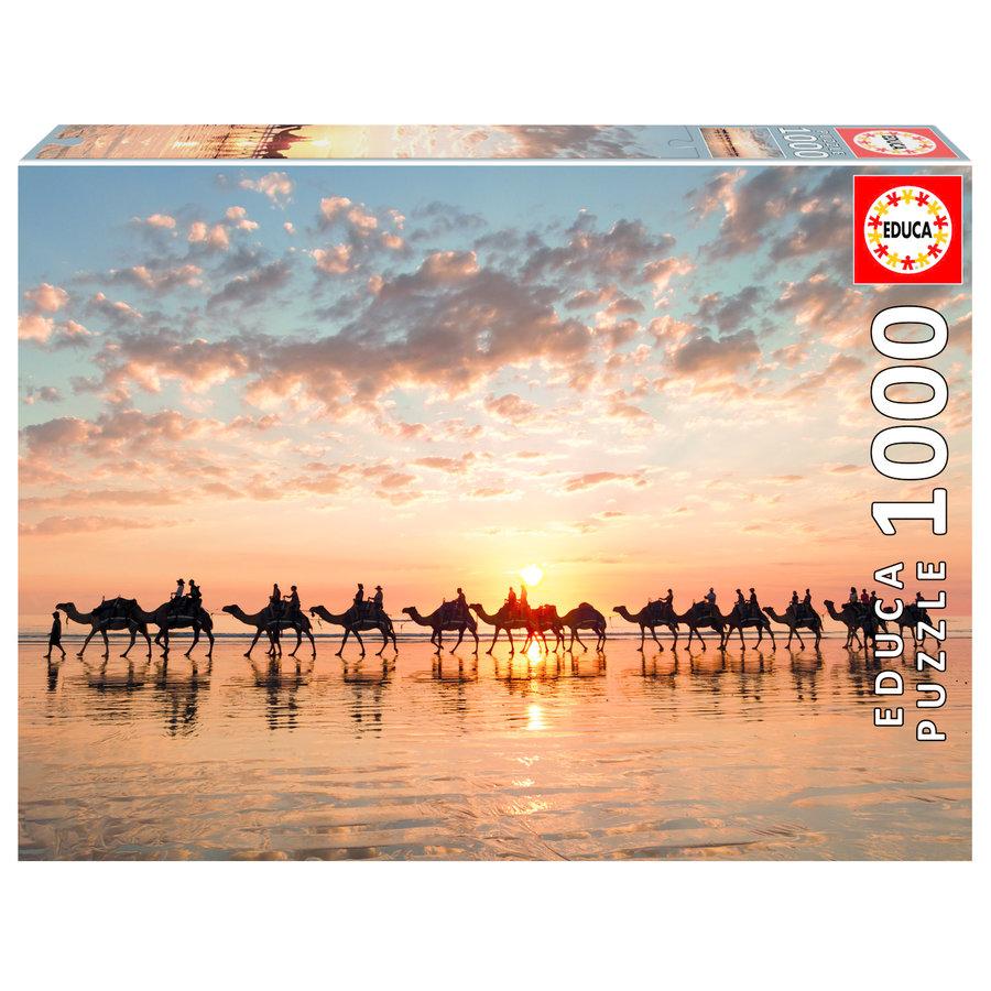 Sunset in Australia - 1000 pieces-1