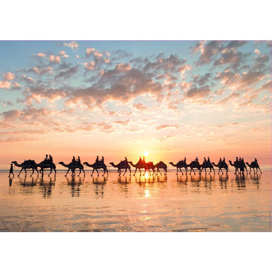 Sunset in Australia - 1000 pieces-2