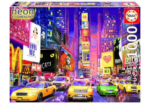 Times Square - Glow in the Dark - puzzle 1000 pièces