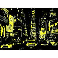 thumb-Times Square - Glow in the Dark - puzzel 1000 stukjes-2