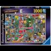 "Ravensburger Adembenemend Alfabet ""E&F"" - Colin Thompson - puzzel 1000 stukjes"