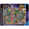 "Ravensburger Awesome Alphabet ""E&F"" - Colin Thompson - Jigsaw 1000 pieces"