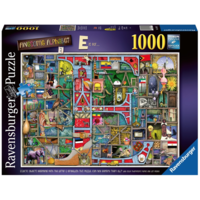 "thumb-Adembenemend Alfabet ""E&F"" - Colin Thompson - puzzel 1000 stukjes-1"