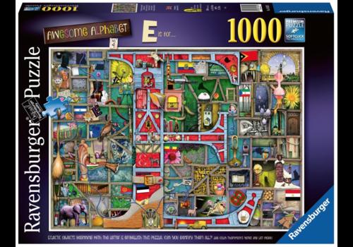 """Ravensburger Awesome Alphabet """"E&F"""" - 1000 pieces"""