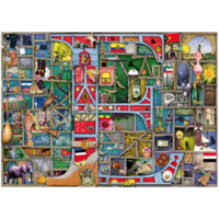 "thumb-Adembenemend Alfabet ""E&F"" - Colin Thompson - puzzel 1000 stukjes-2"