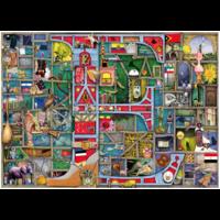 "thumb-Awesome Alphabet ""E&F"" - Colin Thompson - Jigsaw 1000 pieces-2"
