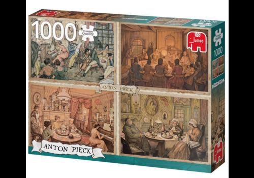 Jumbo Divertissement dans le salon - Anton Pieck - 1000 pièces