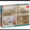 Jumbo Kanaalboten - Anton Pieck - 1000 stukjes