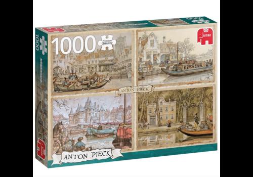 Bateaux de canal - Anton Pieck - 1000 pièces