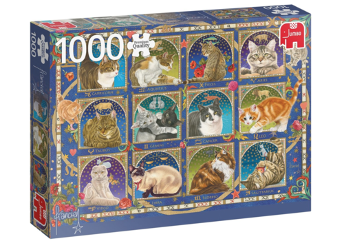 Cat Horoscope - 1000 pieces