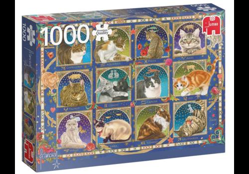 Jumbo Horoscope du chat - 1000 pièces