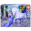 Educa Bluebell Woods - Anne Stokes  - jigsaw puzzle of 1000 pieces