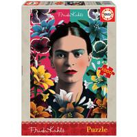 thumb-Frida Kahlo - legpuzzel van 1000 stukjes-1