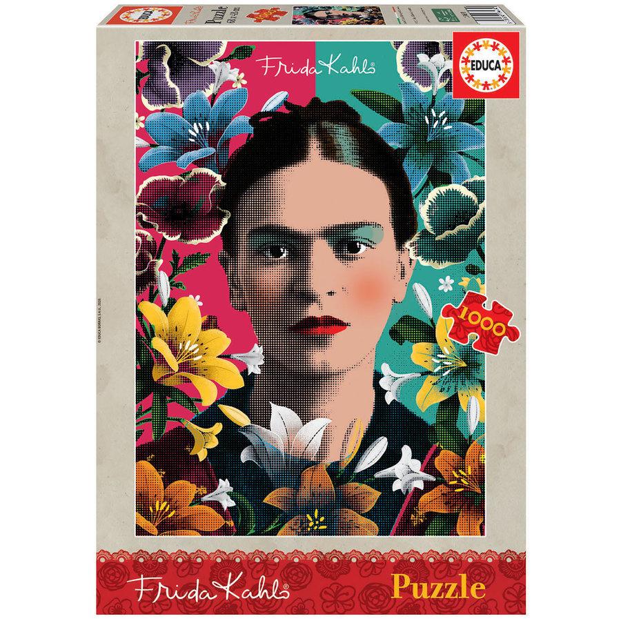 Frida Kahlo - legpuzzel van 1000 stukjes-1