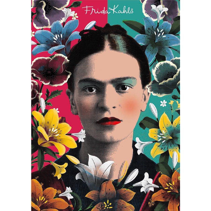 Frida Kahlo - legpuzzel van 1000 stukjes-2